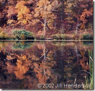 2002 - 10 - Noblett Lake - lovely color