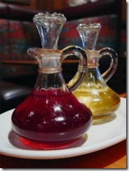 Herbed Vinegar & Oil