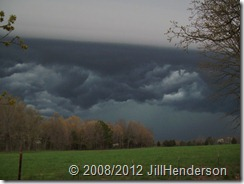 Storm on the Horizen © 2008/2012 JillHenderson