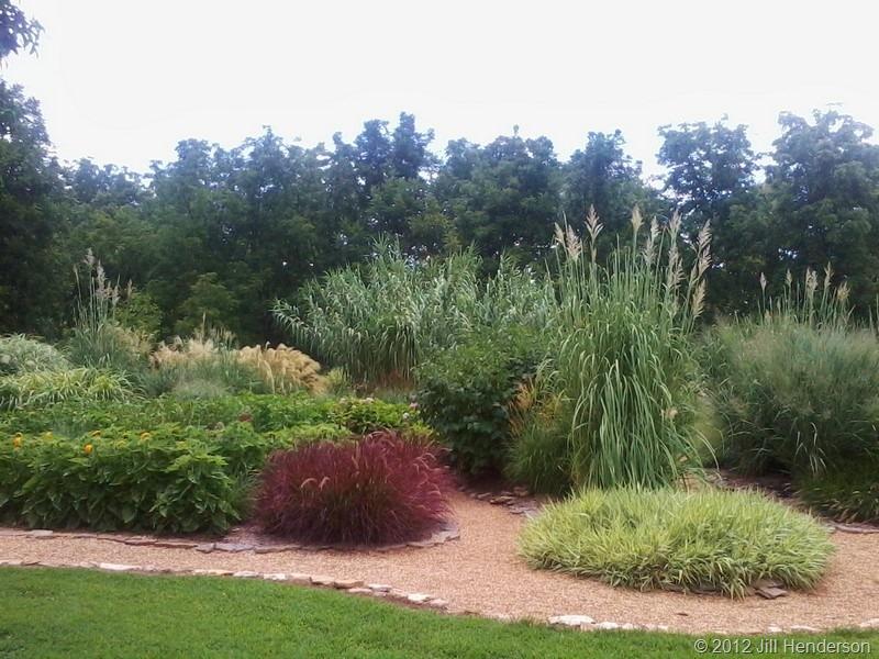 Nathanael greene close memorial park and botanical center for Ornamental grass edging