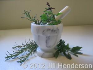 Mortar and Pestel - Copyright 2012 Jill Henderson