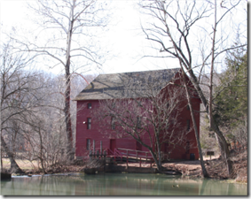 Alley Spring Roller Mill.  Photo: NPS