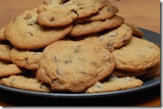 Chocolate Chip Persimmon and Black Walnut Cookies