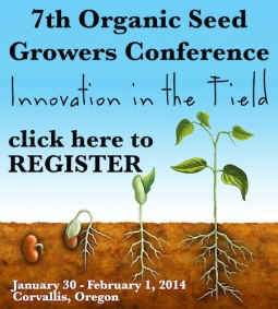 2014 Organic Seed Growers Conference
