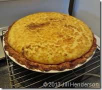 2013 11-27  Egg Custard Pie (1)