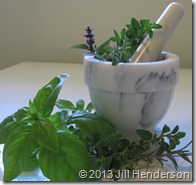 Herbs - Mortar and Pestel (3)