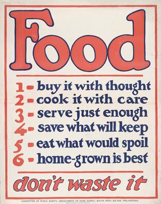 Food: Don't Waste It!
