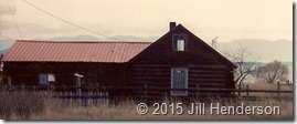 1992-5 - Elmo, MT (1) - Our historic cabin on the lake