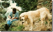 1996 - Cabinet Wilderness Area - Dean and Buck