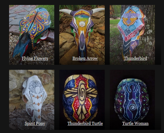 Cow Skull & Turtle Shell Collection